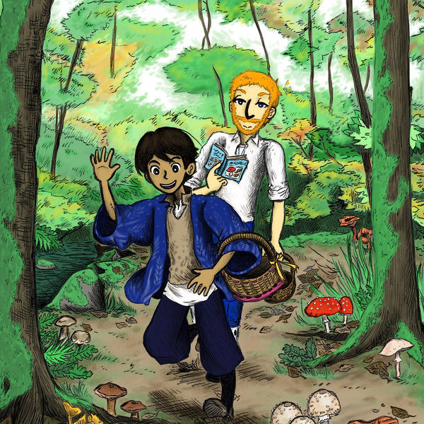 Mushroom Hunting by sweet-suzume