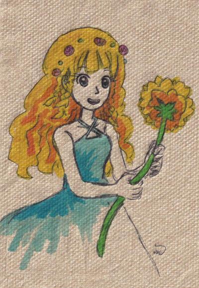 Sunflower Shirley by sweet-suzume