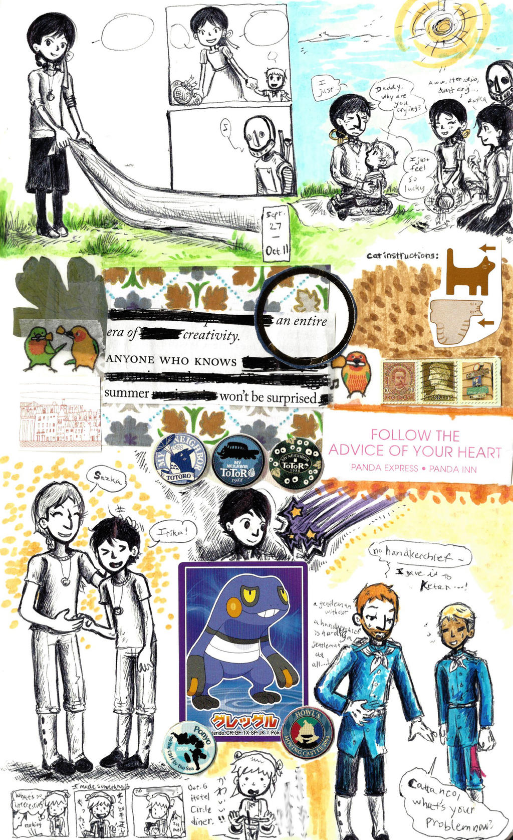 page - during, after, etc. by sweet-suzume