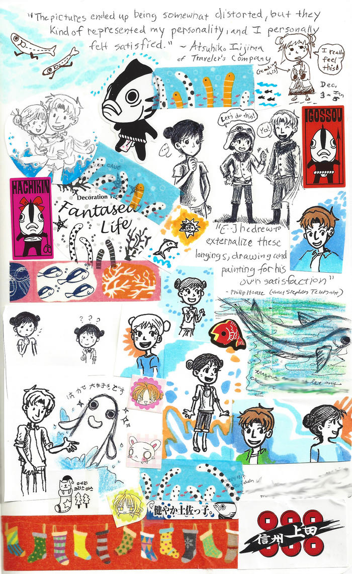 page - fantasea life, creative fish story by sweet-suzume