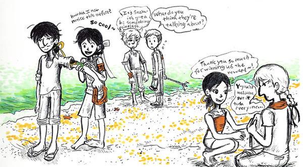 beachside by sweet-suzume