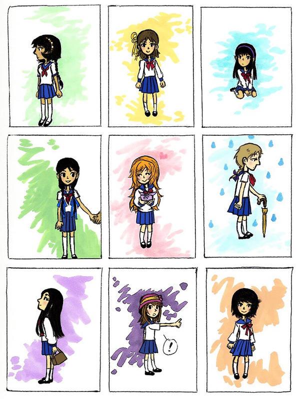 schoolgirl style x 9 by sweet-suzume