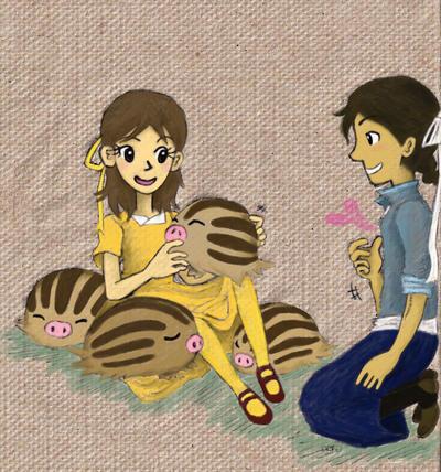 cuddly swinubs by sweet-suzume