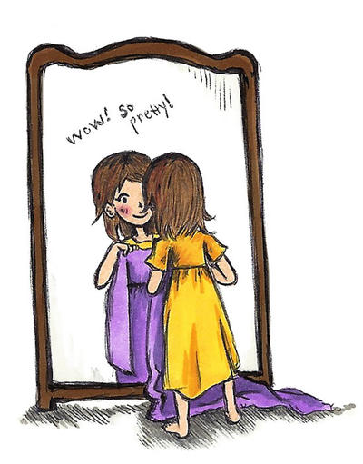 held up to the mirror by sweet-suzume