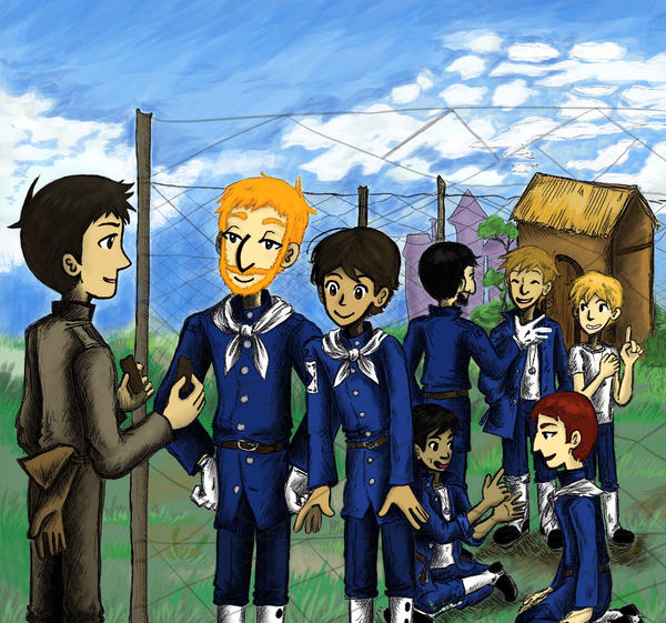 at the P.O.W. camp by sweet-suzume