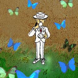 Kimblee, Coffee, Butterflies