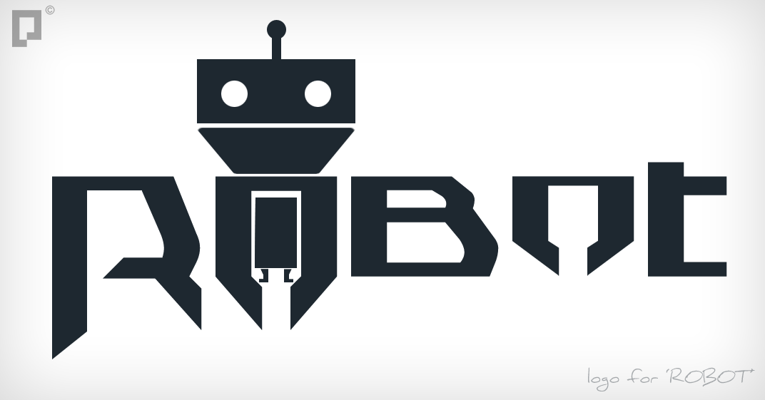 'Robot' Logo by pixelframe on DeviantArt