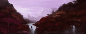 Purple haze valley by Crosscrim