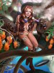 Cherry Strain Hunter by gkpainting
