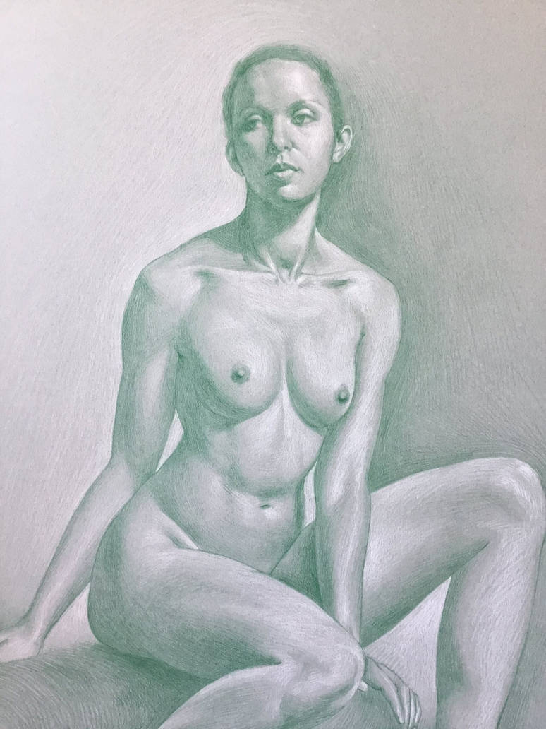 La Fee Verte by gkpainting