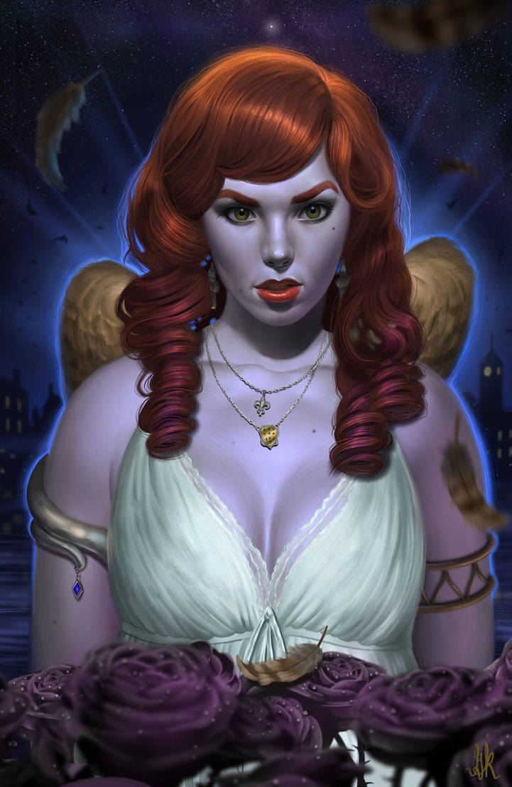 The Archangel of Argenton by gkpainting