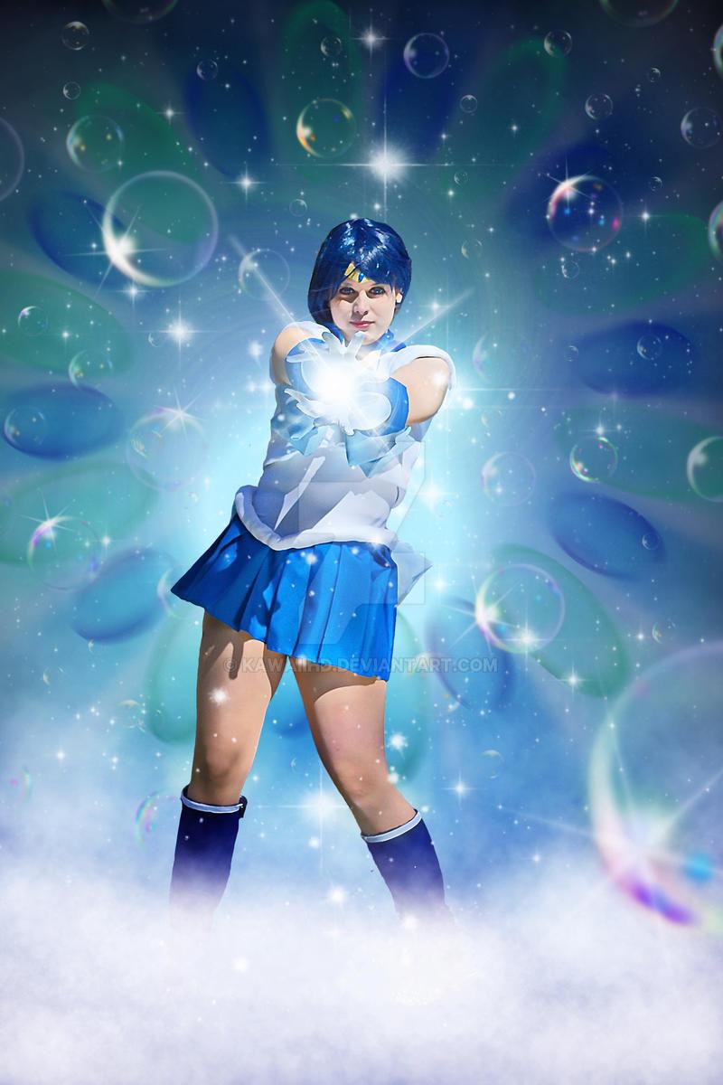 Sailor Mercury Shabon Spray/Bubble Blast Cosplay by KawaiiHD