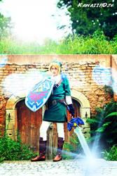 Link Cosplay, Legend of Zelda by Aquamarin