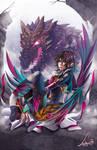 Kristal dragon
