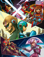Megaman X by Burgita