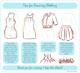 Tips For Drawing Clothing