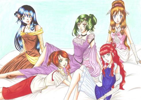 The Comicstars.de Girl