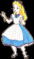 Disney Glamour 1951 Alice