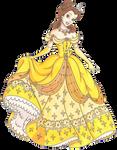Disney Glamour 1991 Belle