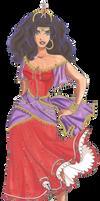 Disney Glamour 1996 Esmeralda