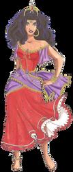 Disney Glamour 1996 Esmeralda by Sil-Coke