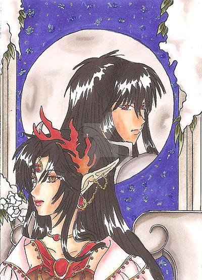 Ashura und Yasha by Sil-Coke