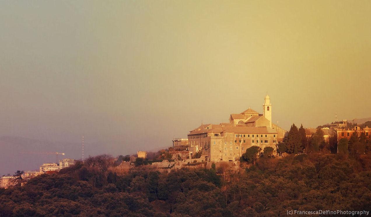 Genoese castle by FrancescaDelfino