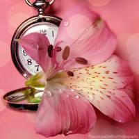 Lily and clock 1 by FrancescaDelfino