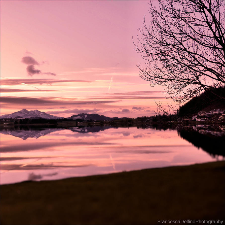 Pink sky by FrancescaDelfino