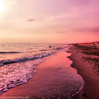 Sunset on the beach 6 by FrancescaDelfino