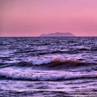 Sunset on the beach 12 (Gorgona Island) by FrancescaDelfino