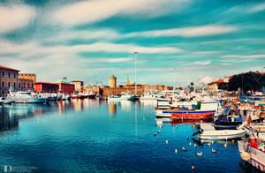 A day in the harbor of Livorno 2 by FrancescaDelfino