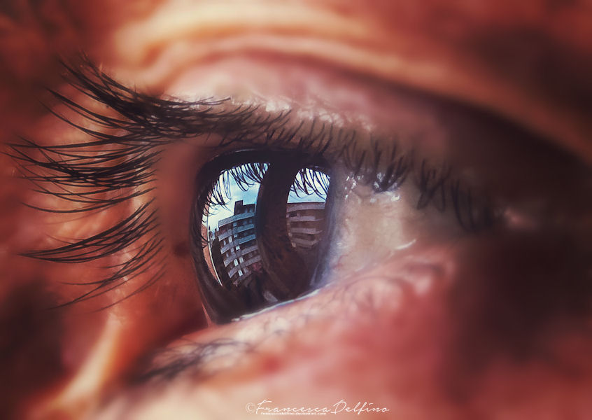 The world seen from his eyes by FrancescaDelfino