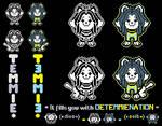 !TEMMIE V.2! (*dies*) ^3^ 'w' by DAVEUTFAN75