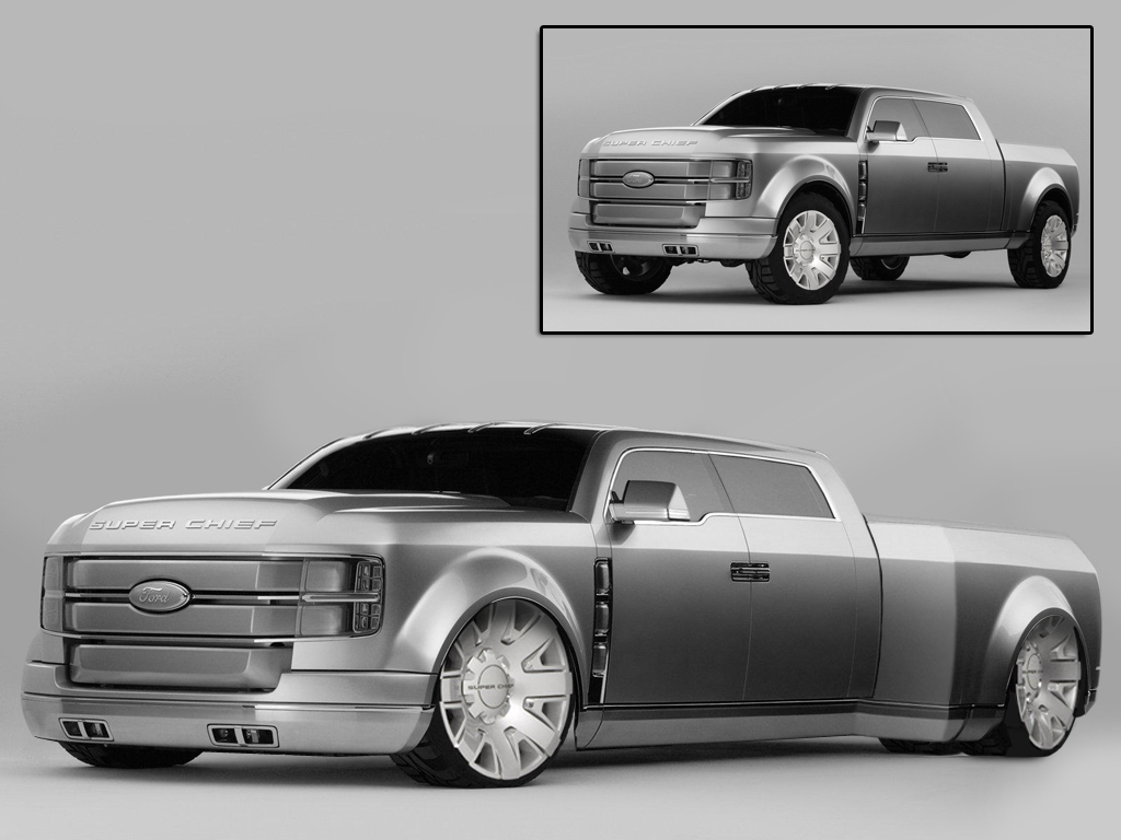 Ford Super Chief Concept By Caingoe On Deviantart