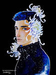Boy And Flower 3 - Chrysanthemum