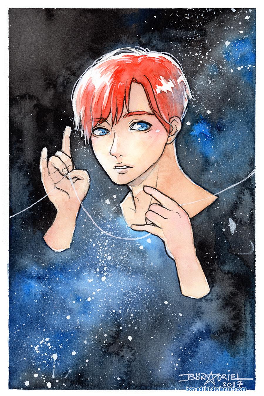 Galaxy Boy by bon-adriel