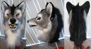 Silver Werewolf mask