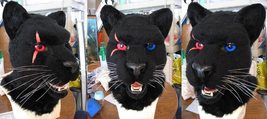Bixx Panther Mask by Monoyasha