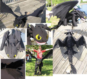TOOTHLESS 5FT PLUSH