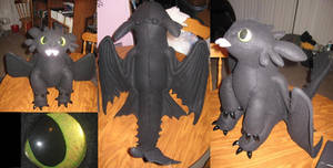 Toothless Situp Plush