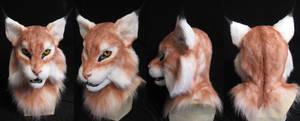 Unfinished Lynx Mask