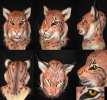Lynx Mask by Monoyasha