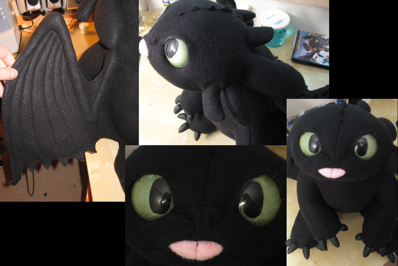 Toothless Plush by Monoyasha