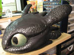 Toothless head progress 3 by Monoyasha