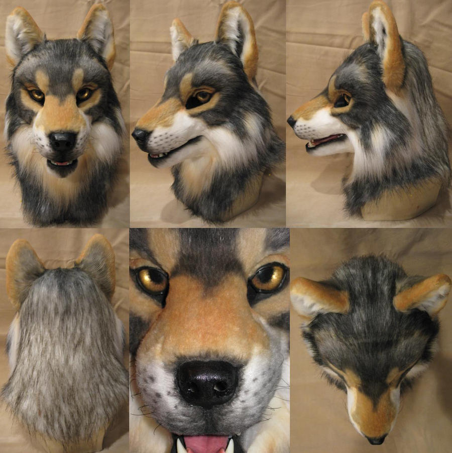 Bleis Wolf Head Finished by Monoyasha