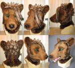 Cameron Tas Tiger HeadFinished by Monoyasha