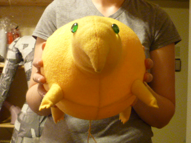 Bitey peep thing plush by Monoyasha