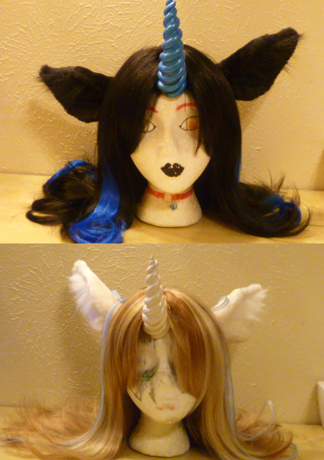 Unicorn Ears and Horns by Monoyasha