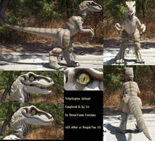 Velociraptor Fullsuit 1 by Monoyasha
